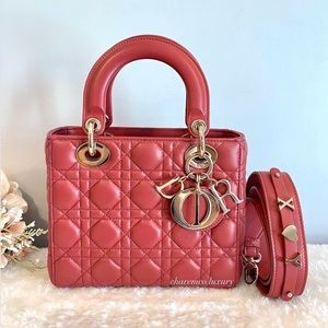 🌸 Lady DIOR 🌸 Small My ABC Blush Pink Bag